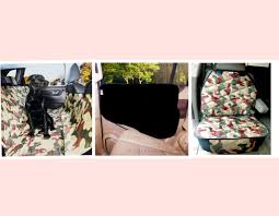 plush paws products pet car seat cover regular military camouflage