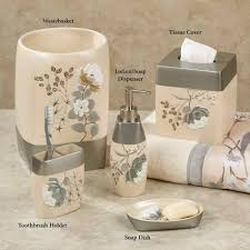 Rustic Bathroom Accessories Sets - ideas pictures from hgtv home bath accessories ashley floral home