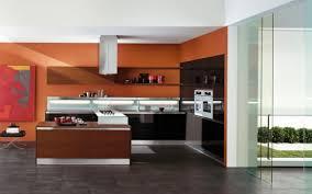 Orange Kitchens Ideas Attractive And Amazing Orange Kitchen Interiors And Design News