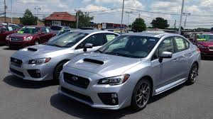 subaru galaxy blue first look 2016 subaru wrx sti