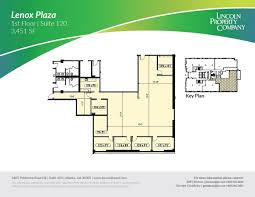 Lenox Floor Plan 3384 Peachtree Rd Ne Atlanta Ga 30326 Property For Lease On