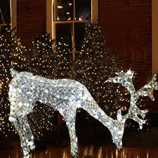 decorations lighted deer lighted deer sculptures