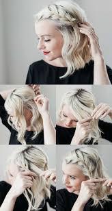 Frisuren Selber Machen Tipps by Wellen Und Französischer Zopf An Einer Seite Frisuren