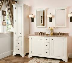 White Tall Bathroom Cabinet by 15 Traditional Tall Bathroom Cabinets Design Home Design Lover
