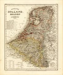 Map Of Netherlands Netherlands