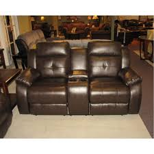 Sofa Loveseat Recliner by Reclining Leather Sofa U0026 Loveseat Set W Power Troy Sl Troy Brown