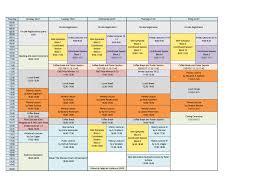 7ecm schedule