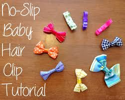 baby hair clip mart diy baby hair with a no slip grip tutorial