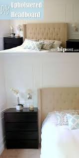 How To Make Your Own Fabric Headboard by Carolyn Upholstered Headboard Home Pinterest Bedrooms And Room