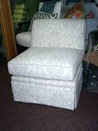 slipcovers for armless chairs armless slipper chair covers slipper chair slipcover medium size of