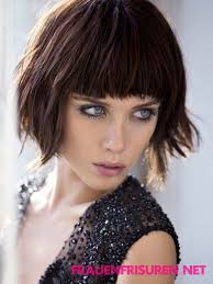 Bob Frisuren Pony by Moderne Kurze Bob Frisuren Mit Pony Haare Haircuts
