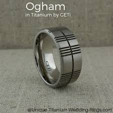 titanium wedding rings uk ogham wedding ring with made in the uk by geti write your own