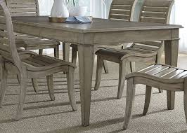 driftwood dining room table shocking grayton grove driftwood extendable rectangular leg dining