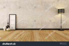 empty room pictures empty room hardwood floor old wall stock illustration 369489377