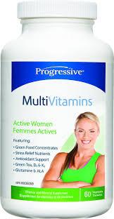 progressive multi vitamin active women goodness me