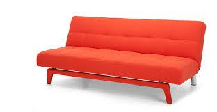 Orange Sofa Bed Yoko Sofa Bed In Saffron Orange Made