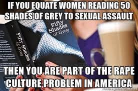 Meme Shades - 50 shades of sexual assault
