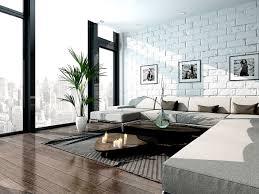 Wohnzimmer Einrichten Buddha Die Weiße Wand Im Backsteinstil Ergänzt Sich Perfekt Mit Den
