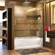 Mirage Shower Doors Shop Dreamline Mirage X 56 In To 60 In W Frameless Chrome Sliding