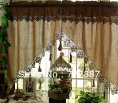 Crochet Valance Curtains 88 Best Curtains Images On Pinterest Window Coverings Curtains