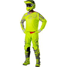 motocross fox clothing fox racing 2017 mx gear new 180 race flo yellow dirt bike