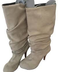 light grey suede boots christian louboutin light grey suede boots booties size us 8 regular