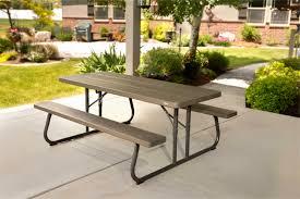 lifetime foldable picnic table 45 luxury lifetime 6 folding picnic table new best table design ideas
