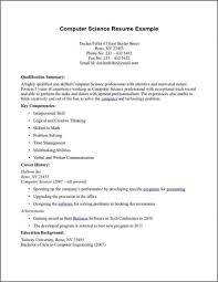 Best Resume Format For Computer Engineers by Marvelous Design Inspiration Computer Science Resume Sample 11