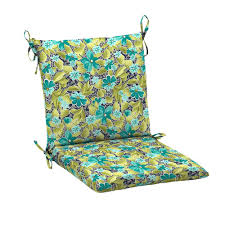 hampton bay callista mid back outdoor dining chair cushion