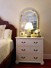 opulent small bedroom nightstands a crate placed vertically at the