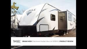 kodiak ultra light travel trailers for sale 2018 dutchmen kodiak ultra lite 285bhs bunk house travel trailer