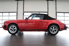 convertible porsche red 1988 porsche 911 carrera cabriolet gaudin classic