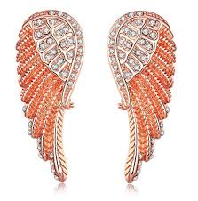 wing earrings angel wing earrings creative