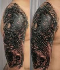 skull tat for