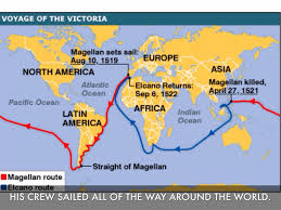 Map Of Columbus Voyage Christopher Columbus By Allison N