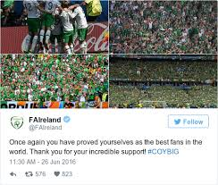 best fans in the world 12 wonderful tributes to the boys in green and their fans