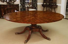 Expanding Table by Round Mahogany Jupe Table For Sale Large Round Expanding Table