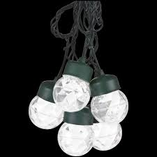 string lights with clips lightshow 8 light white projection round string lights with clips
