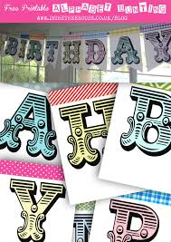 printable alphabet bunting banner alphabet bunting free printable by in the treehouse and so much more