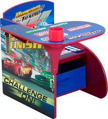 delta children disney cars chair desk with pull out under the seat