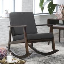 A Rocking Chair Belham Living Holden Modern Indoor Rocking Chair Upholstered