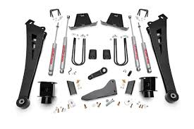 Dodge 3500 Lifted Trucks - 5in suspension lift kit for 2013 2015 dodge 4wd ram 3500 pickup