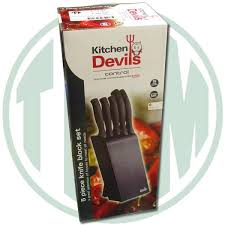 kitchen devils knives kitchen devils knife block set knife block sets