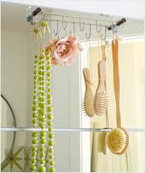 How To Hang A Bathroom Mirror by 30 Amazingly Diy Small Bathroom Storage Hacks Help You Store More
