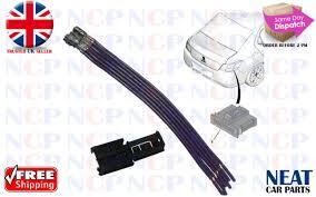 genuine peugeot rear light repair kit wiring connectors 1606248780