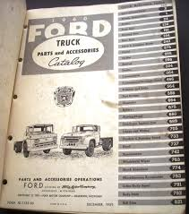 1989 Ford F350 Truck Parts - ford truck parts and accessories catalog book pickup heavy duty