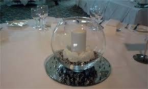 wedding simplicity table centrepieces