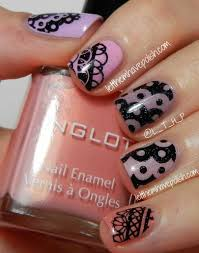 let them have polish pink ish wednesday ombre fun with inglot