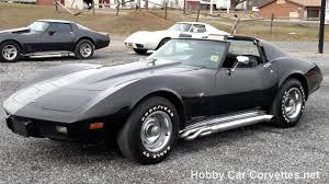 77 corvette for sale 1977 black black corvette 4spd for sale