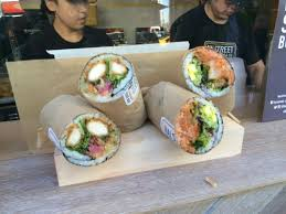 Urban Sushi Kitchen - hai street kitchen introduces sushi burritos at broadway bites